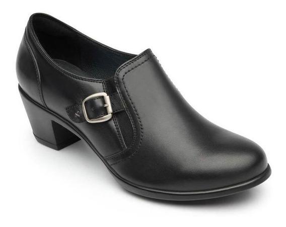 Zapato Con Tacón Flexi Dama 15406