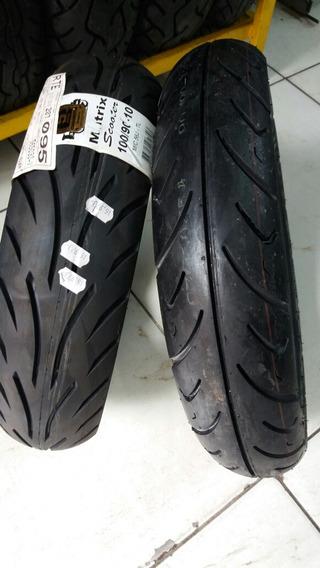 Par Pneu Honda Lead 110cc 90/90-12 Cst + 100/90-10 Levorin