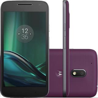 Motorola Moto G4 Plus Xt1640 32gb 2gb Ram Roxo Vitrine 2