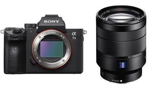 Sony A7 Iii Mirrorless Camera + T* Fe 24-70mm F/4 Za Oss
