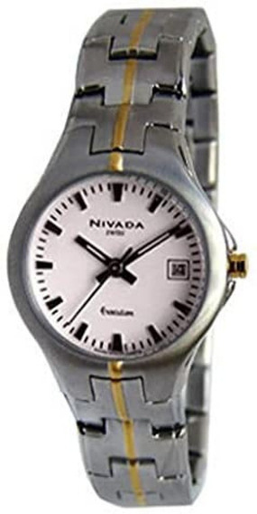 Reloj Nivada Executive Ng2454lbicbi Original Dama E-watch