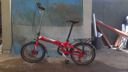 Bicicleta Plegable Sbk Folding 20