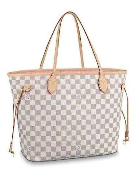 Louis Vuitton Neverfull Monogram Branca Inspired