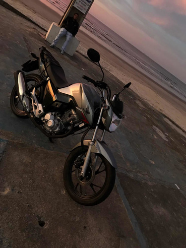 Imagem 1 de 9 de Honda Cg Fan 160 Cinza