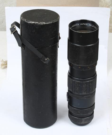 Auto Yashinon Zoom 1:4.5 F=75- 230mm- Colecionador