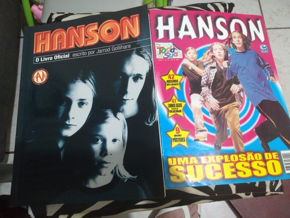 Lote 2 Revistas Banda Irmaos Hanson Explosão De Sucesso
