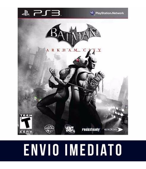 Batman Arkham City Ps3 - Midia Digital