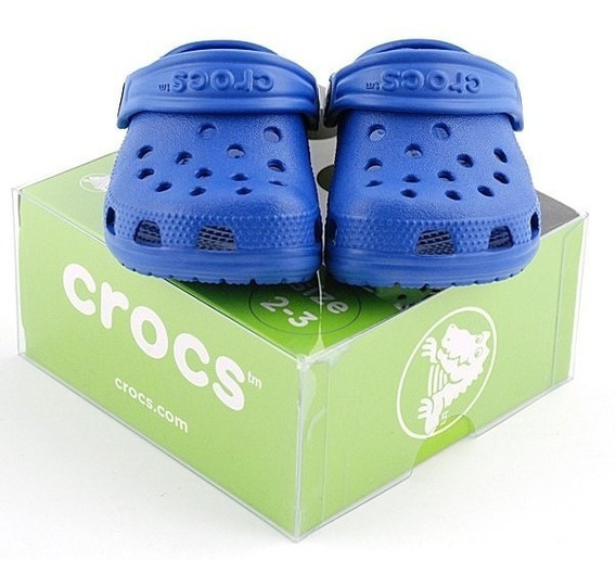 Crocs Littles Baby Sea Blue Tam. 20/21 Loja Sport Fitness