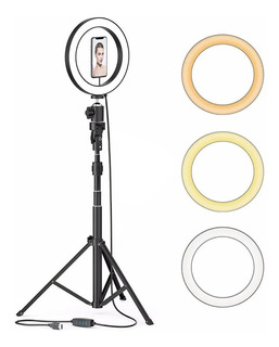 Iluminación Estudio Fotográfico Anillo Luz 26cm+tripode Ml02