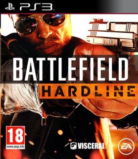 Battlefield Hardline + Battlefield 4 Ps3