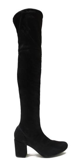 Zapato De Mujer Bota Bucanera De Gamuza Katya
