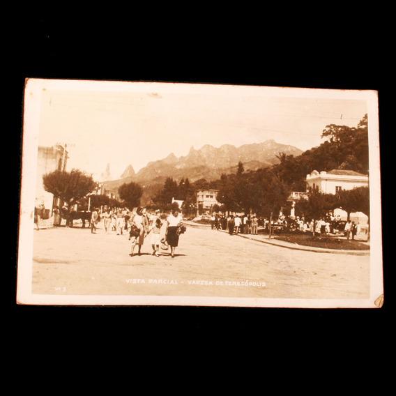 Cartão Postal Com A Várzea De Teresópolis - Década De 1950