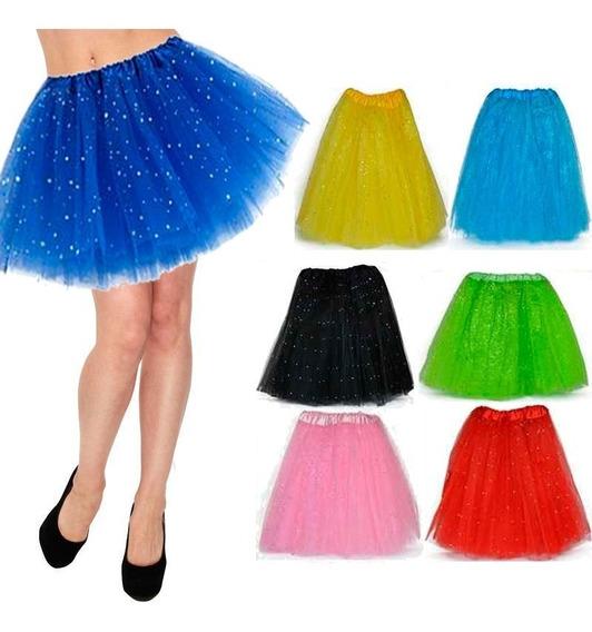 Tutu Escarchado Adultos Grande Falda Ballet Disfraz Mnr