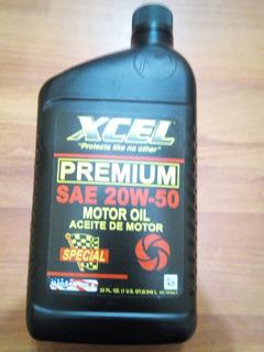 Aceite Mineral 20w50 Xcel Premium Consulte Precio