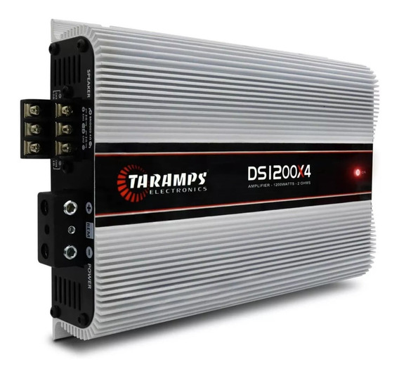 Modulo Taramps Ds1200x4 4 Canais Digital 2 Ohms 1200w Rms