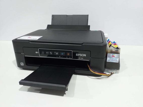 Impressora Epson Xp 241 Bulk Ink Multifuncional Econômica
