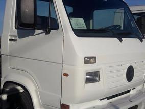 Caminhão Vw 8.120 No Chassi Único Dono,doc: Baú Em Ótimo Est