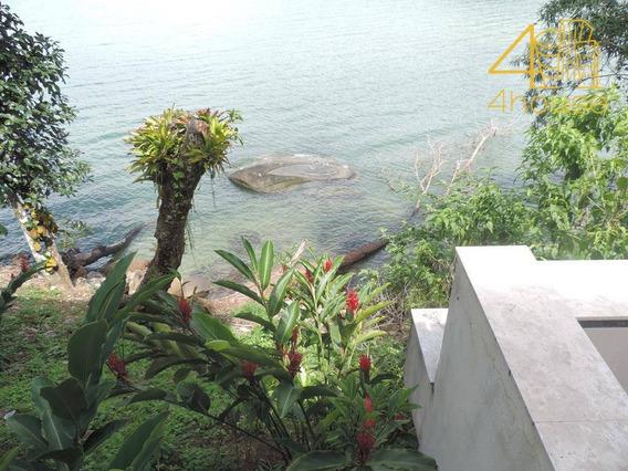 Angra Dos Reis - Casa Maravilhosa Pé Na Praia 05 Suítes Piscina No Condomínio Frade Para Venda. - Ca0345