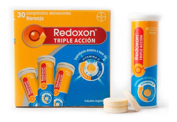 Redoxon Triple Acción Efervescente X 30 Comprimidos