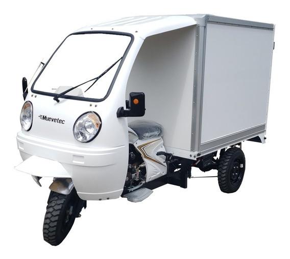 Motocarro Gasolina Muevetec 2020 Rex Caja Seca 200cc