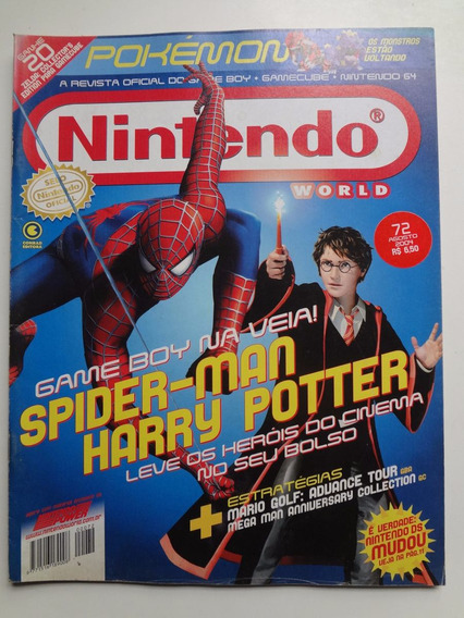 Revista Nintendo World Nº 72 Harry Potter