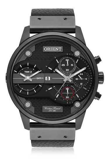 Relógio Orient Masculino Cronógrafo Couro Mpsct001 P1px
