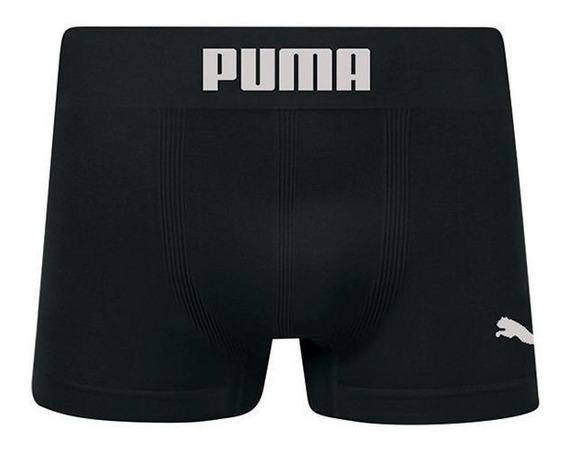 Cueca Boxer Puma S/ Costura Original Kit 6 Pçs - Ref 14100