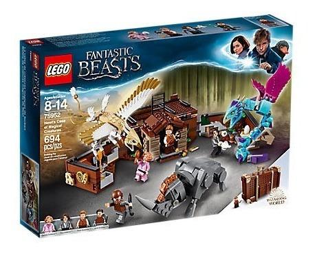 Harry Potter Maleta De Criaturas Mágicas De Newt Lego