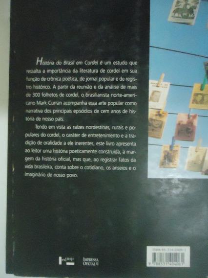 Livro História Do Brasil Em Cordel