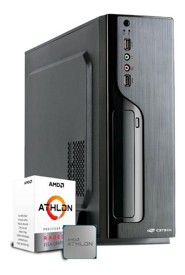 Computador Business Athlon 200ge / Ssd 240gb / Gabinete Slim
