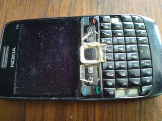 Celular Nokia E63 Sem Bateria