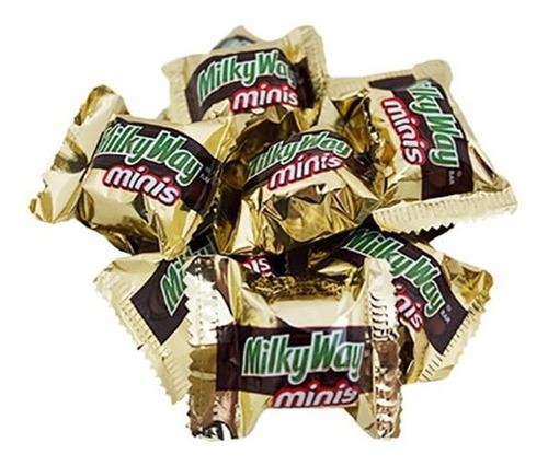 Chocolatina Milky Way Miniatura Bolsa X25 - kg a $2