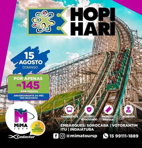 Imagem 1 de 1 de Excursao Hopi Hari Transporte + Ingresso