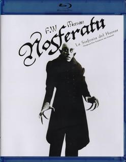Nosferatu Una Sinfonia Del Horror 1922 Pelicula Blu-ray