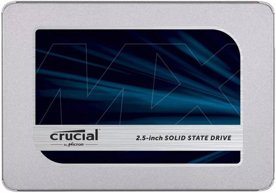 Disco Ssd Crucial Mx500 Sata 6gb/s 2.5 7mm 1tb