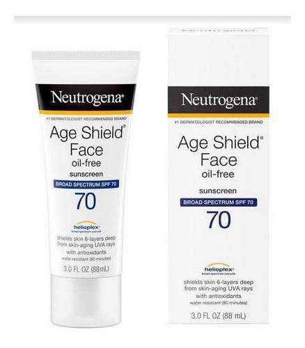 Imagen 1 de 1 de Protector Solar Age Shield Face Spf 70 Oil Free Neutrogena