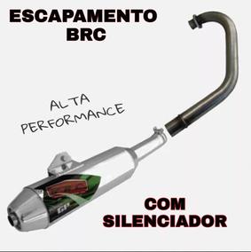 Escape Brc Completo P/ Titan E Fan 150 Ex
