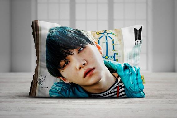 Travesseiro Kpop Suga Yoongi Bts 50x70 Tkbtsisu04