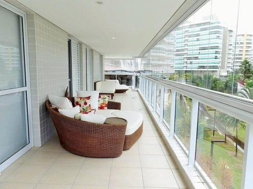 Apartamento Com 4 Dormitórios À Venda, 192 M² Por R$ 4.000.000,00 - Riviera De São Lourenço - Bertioga/sp - Ap5363