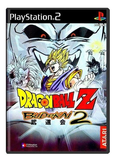 Dragon Ball Z Budokai 2 Ps2 Mídia Física Pronta Entrega