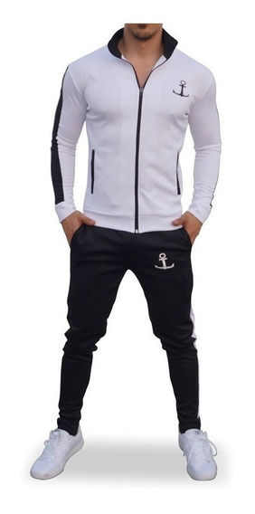 Conjunto John Leopard Elite Track Pants Slim Fit (ajustado)