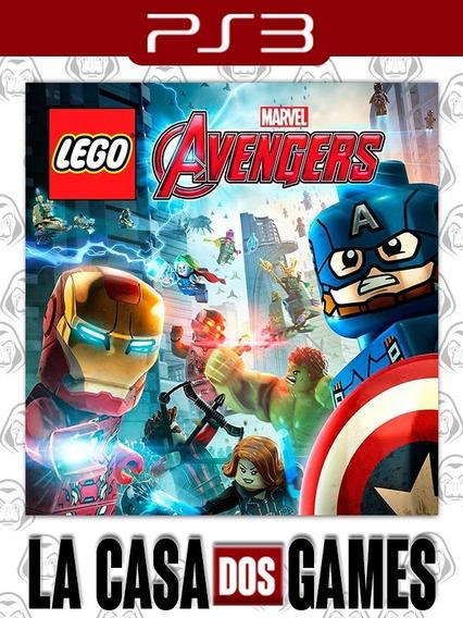 Lego Marvel Vingadores Avengers - Psn Ps3 - Envio Imediato