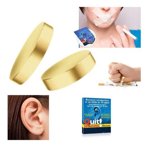 Auricular Accesorio Dejar Fumar Cigarrillo Terapia Magnetica