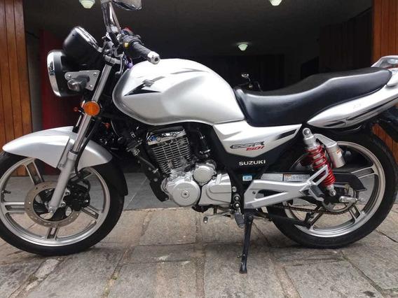 Sukuki Gsr 150 I Prata 2016