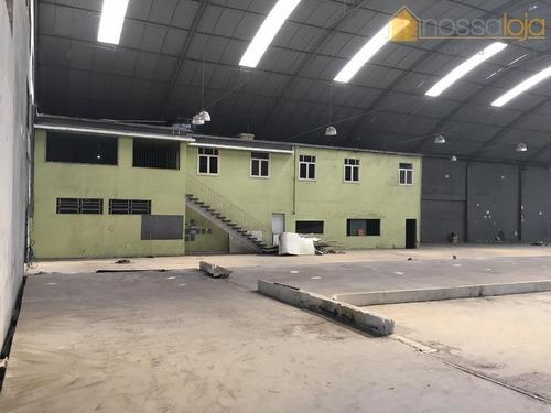 Galpão, 2200 M² - Venda Ou Locação  - Porto Do Rosa - São Gonçalo/rj - Ga0012