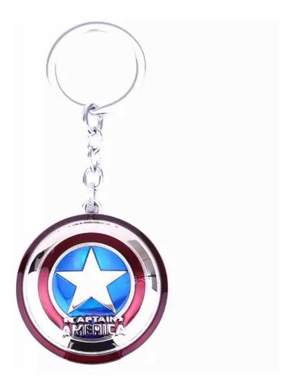 Llavero Capitan America Envio Gratis Escudo Avengers Cap