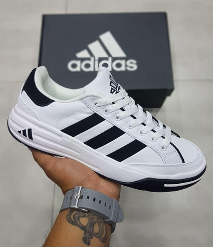 Guardería Desafortunadamente empleo  Tennis Zapatillas adidas Nastase Blancos   Mercado Libre