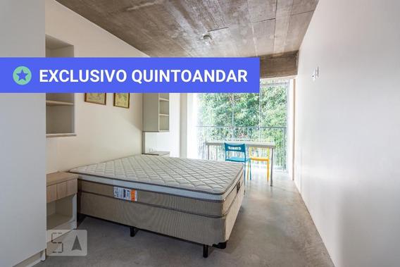 Studio No 3º Andar Com 1 Dormitório - Id: 892956397 - 256397