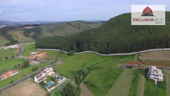 Terreno À Venda, 1000 M² Por R$ 165.000,00 - Village Parahybuna - Paraibuna/sp - Te0122