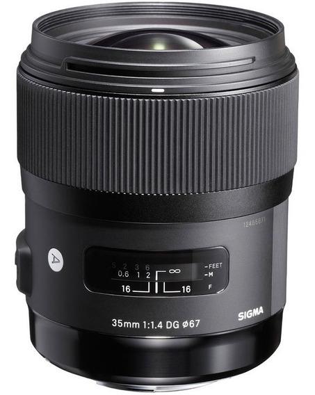 Sigma 35mm F/1.4 Dg Hsm Art Lente Para Nikon -pronta Entrega
